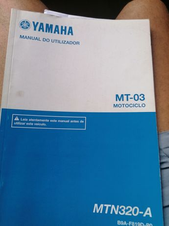 Manual yamaha mt 03