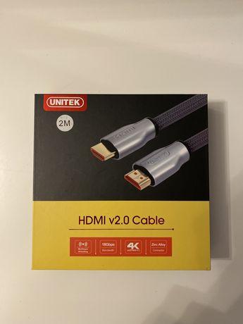 Kabel HDMI 2.0 Unitek 2m