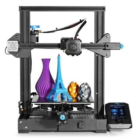 Creality Ender 3 V2 Pro, 3D принтер, В наличии, Новый, Гарантия/Кредит