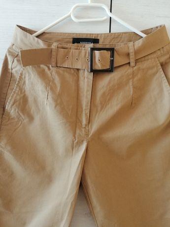 Nowe beżowe spodnie damskie w rozmiarze 36/S marki Reserved