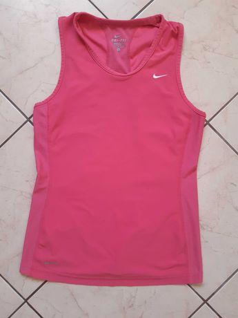 Nike dri fit S/36 różowa koszulka top sportowa damska