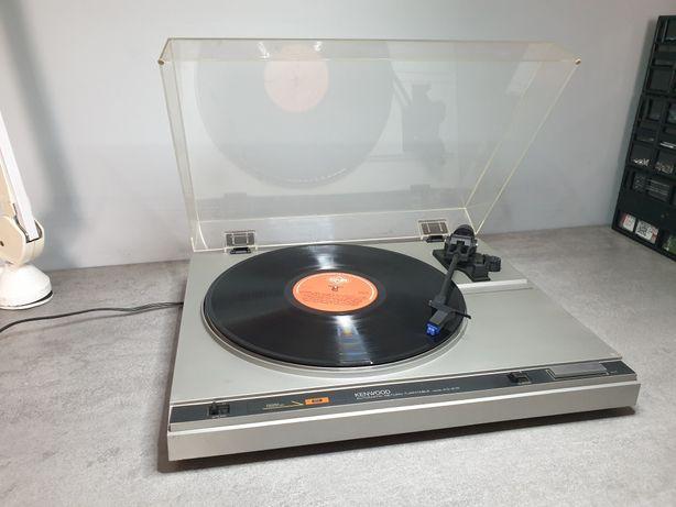 Gramofon Kenwood KD-21R - super stan,zadbany,nowa igła,po przeglądzie!