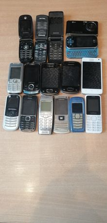 Zestaw telefonów klawiszowych
