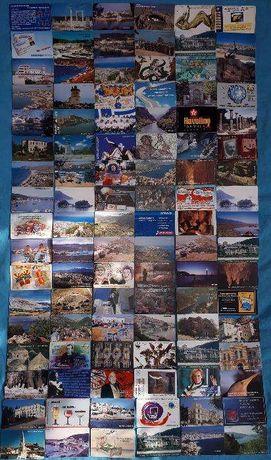 Kolekcja kart telefonicznych
