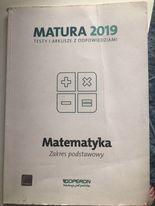 Powtórka do matury z matematyki Matura zakres podstawowy Operon