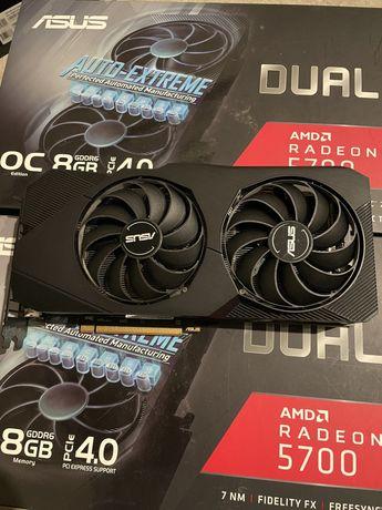 Rx 5700 asus dual 8gb