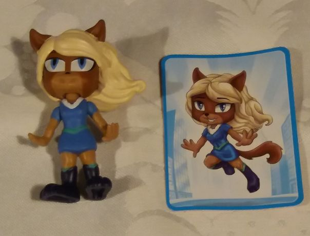 Boneca/figura 3D Flinx Girls da Panini