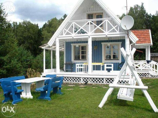 Błękitny domek bajkowy, wyjątkowy, całoroczny TLEŃ ul. Czerska, Bory