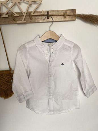 Nowa koszula chłopięca H&M biała metki
