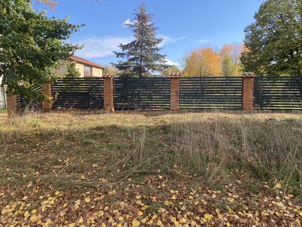 Ogrodzenia panelowe palisadowe ploty betonowe
