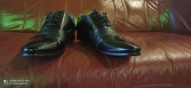 Мужские туфли  Boticheli кожа