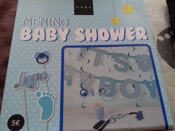 Kit babyshower Menino