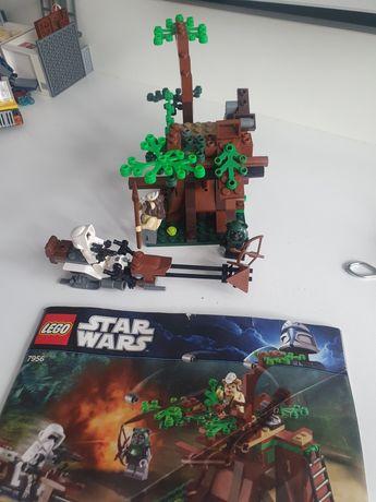 Lego Star Wars 7956 Атака Эвоков оригинал