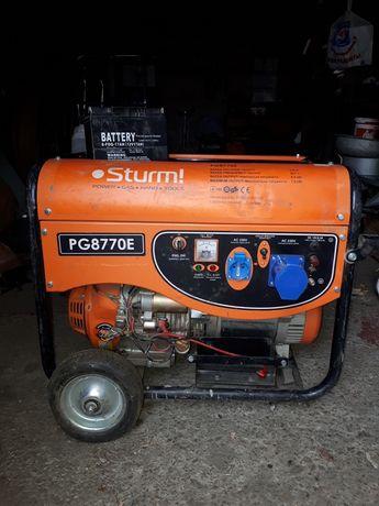 Мини-электростанция бензиновый Sturm PG8770E