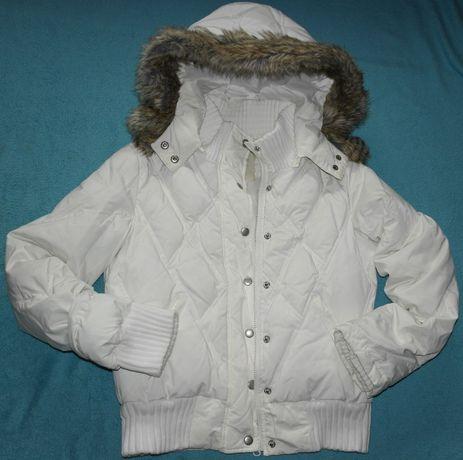Женская Зимняя Next пуховик дутая куртка стеганая теплая