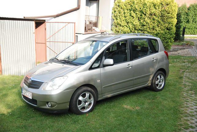 Toyota Corolla Verso 1.6 VVTi, 1 właściciel, zadbana, Climatronic