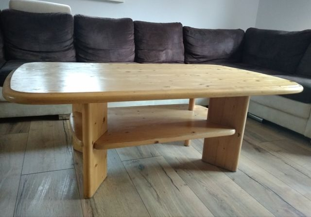Sprzedam ławę  drewnianą -  solidna!
