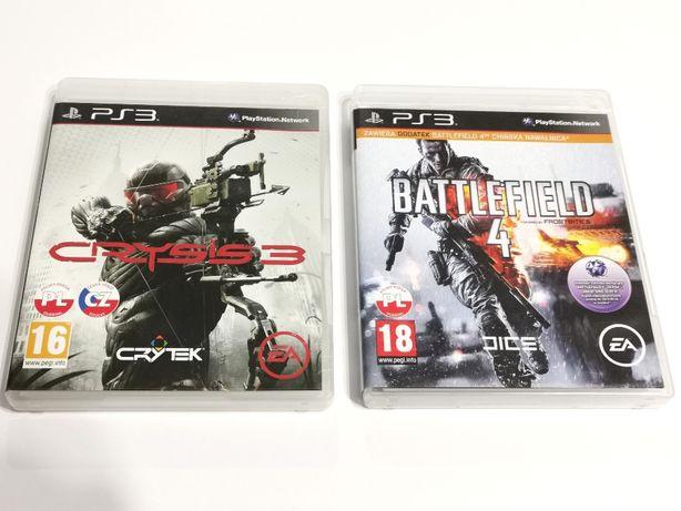 Gra PS3 - Battlefield 4 PL / Crysis 3