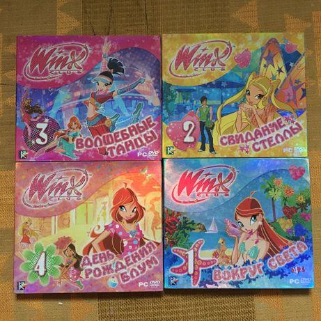 Winx Винкс игры на дисках