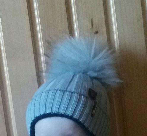 Шапка зимова на хлопчика