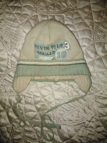 Ciepla czapka przejściowa