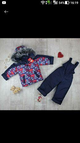 Зимний костюм комбинезон куртка новый Польша