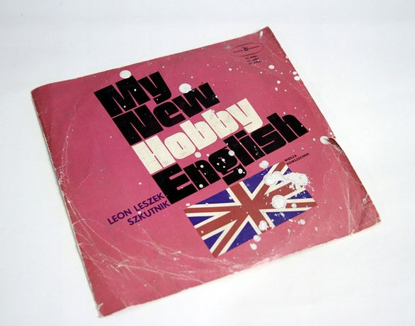 Szkutnik MY NEW HOBBY ENGLISH płyta winylowa