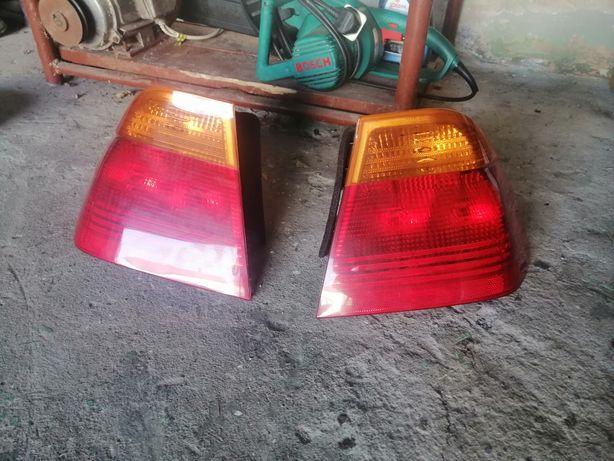 Lampy tylne + kierunku BMW E46 przedlift sedan+ oświetlenie wew.