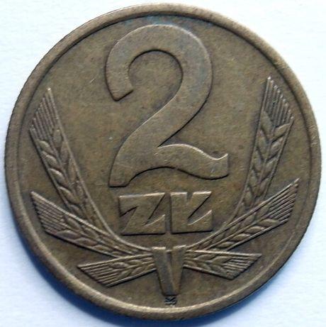 2 złote - okres PRL-lu