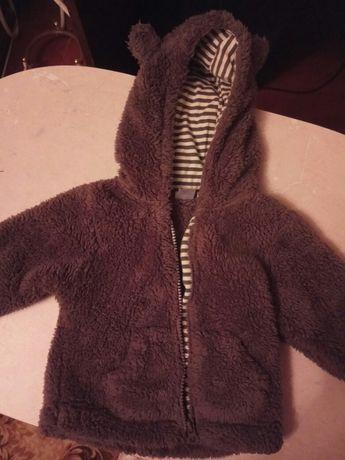 Курточка теплая детская