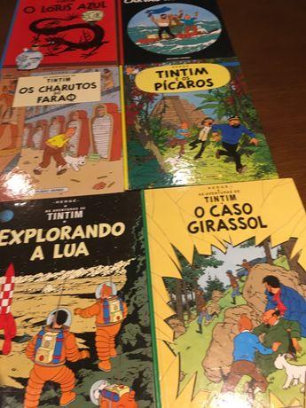 Livros de Banda Desenha Tintim