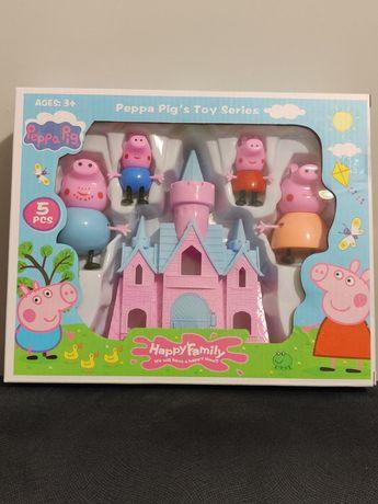 Zestaw Świnka Peppa Pepa Pig Mały domek . Nowość!!