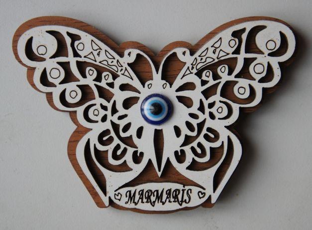 Сувенир магнит на холодильник Бабочка Мармарис Турция