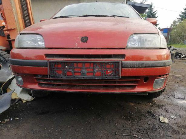 Fiat Punto 1 Zderzak Lampa maska chłodnica halogen i inne Stan BDB