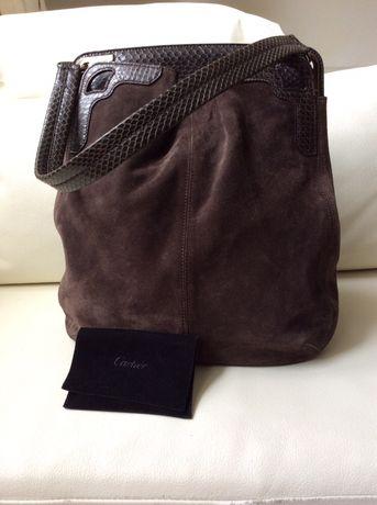 Cartier сумка замша оригинал Chanel Gucci Dior