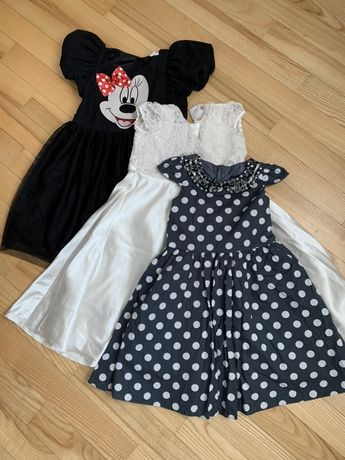 Нарядное платье 6-7 лет 122 Next zara H&M