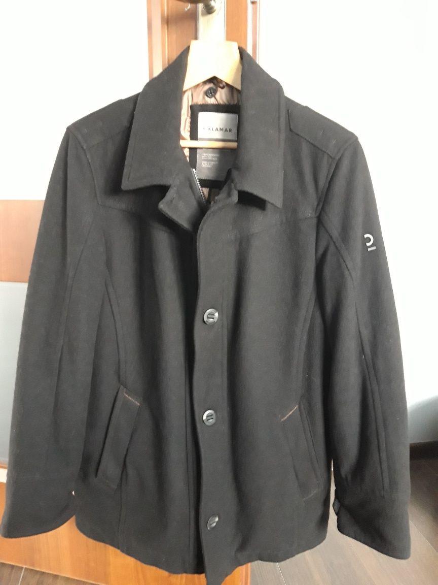 CALAMAR kurtka krótki płaszcz męski NOWA wełna ciepła święta  r. 48
