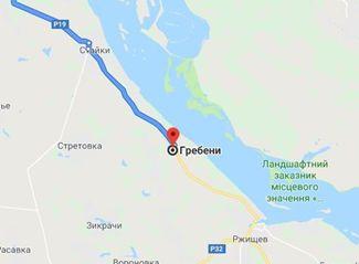Земельна ділянка під забудову біля р.Дніпро, Стайки (с. Гребені), 25 с