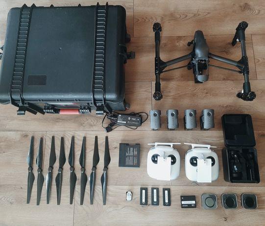 DJI Inspire 1 Pro RAW * Zenmuse X5R * 4 baterie * duży zestaw