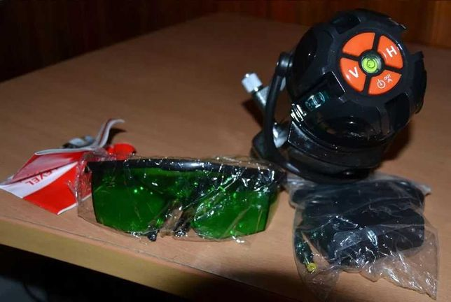 Nivel a laser verde