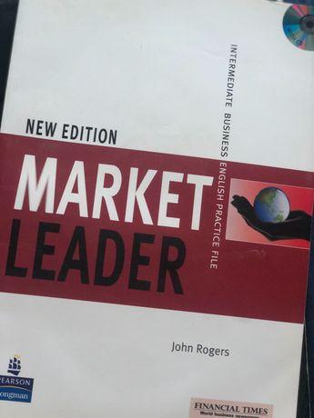 Книги по английскому языку Market Leader Intermediate и Round-up 5
