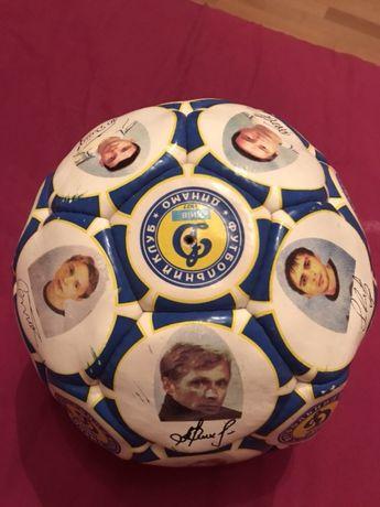 Футбольный мяч с автографами всех игроков «Динамо» Киев 2003/2004