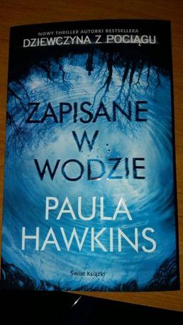 """""""""""Zapisane w wodzie"""" Paula Hawkins"""