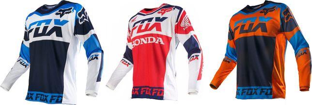 Bluza koszula koszulka cross fox honda yamaha L XL !