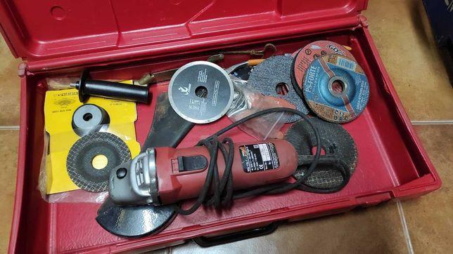 Rebarbadora Pro Work WSJ 115-1 + diversos discos