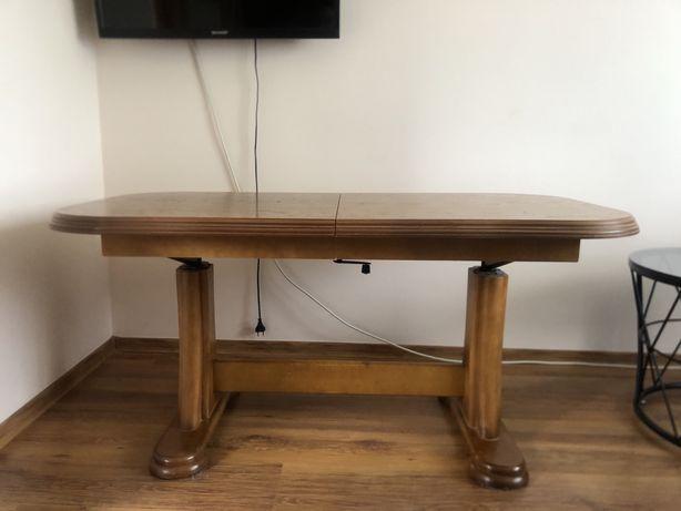 Drewniana ława stół