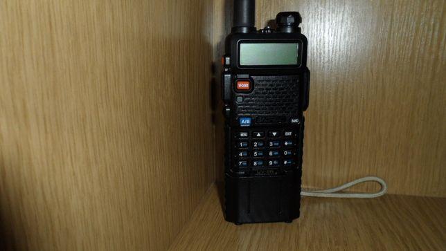 Рация, радиостанция BAOFENG UV-5R UP 5 Вт с усиленной батареей