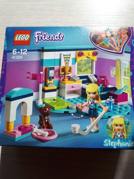 Новый Lego friends 41328 спальня Стефани оригинал