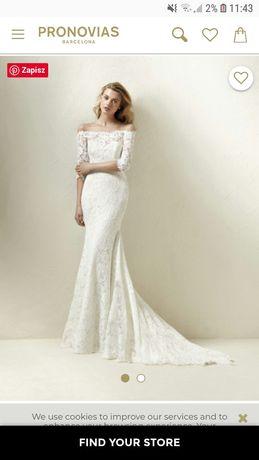 Suknia ślubna Pronovias model Dracane