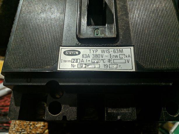 Автоматический выключатель WIS-63M